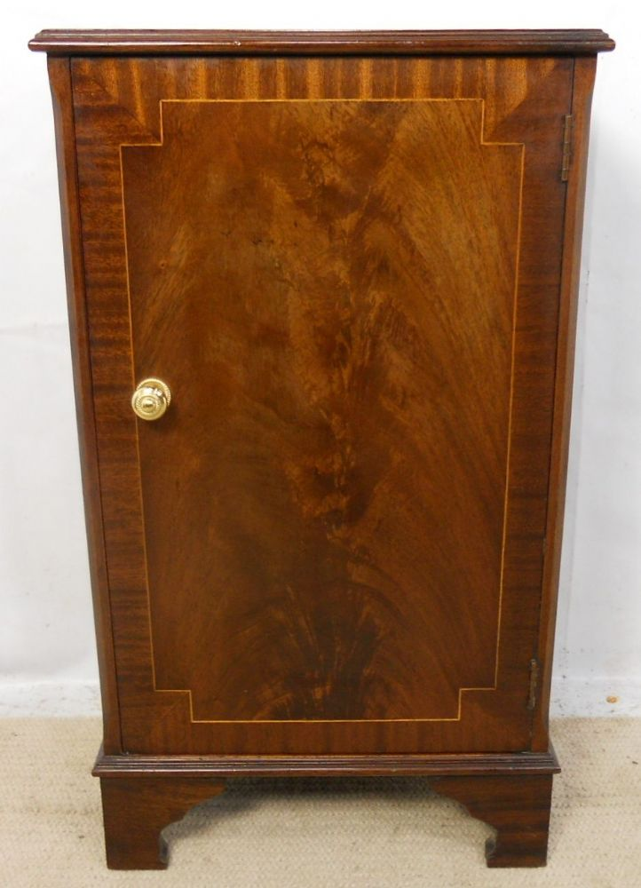 Sold Small Mahogany Storage Cupboard